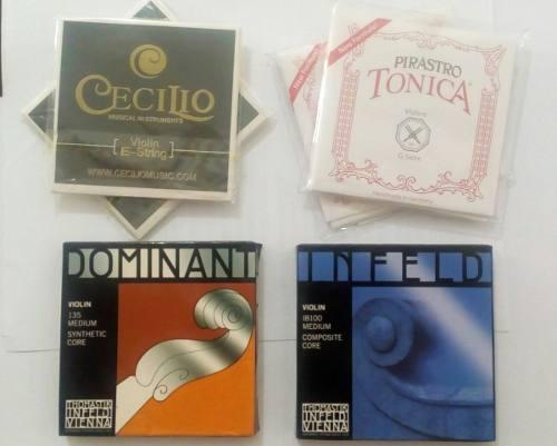 Juego De Cuerdas Para Violin (varias)