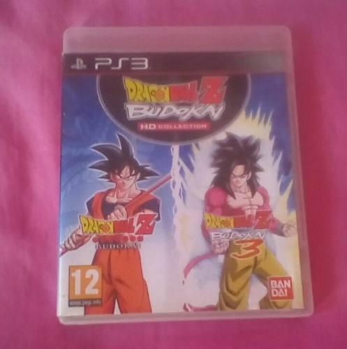 Juego De Dragon Ball Budokai 1 Y 3 Dos Juegos En Uno!!