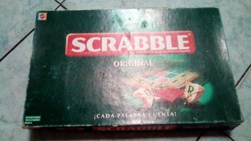 Juego Scrabble Original