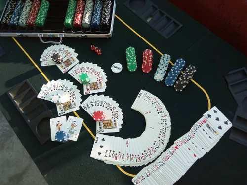 Maletin De 500 Fichas Poker Profesional