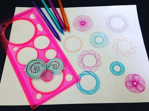 Set De Espirografo Para Dibujar Mandalas