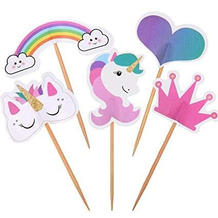 Toppers Personalizados Para Cupcakes (Precio Docena)