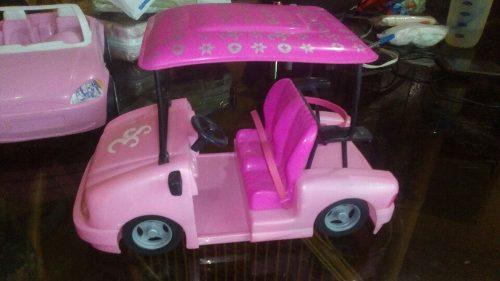 Carro De Golft De Barbie