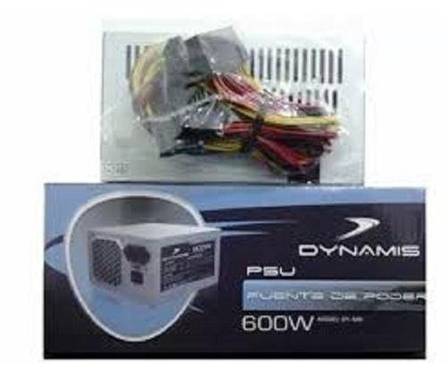 Fuente De Poder 600w Dynamis 24 Pines Dy-600 Kd170