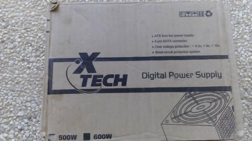Fuente De Poder De 600w X-tech (14)