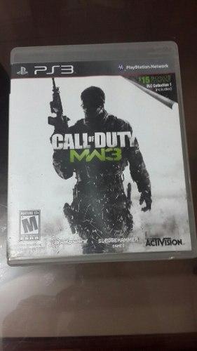 Juego Call Of Duty Mw3 Para Ps3 En Fisico