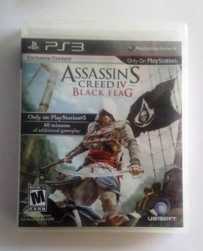 Juego Original Playstation 3 Assassins Creed 4 Y Mas