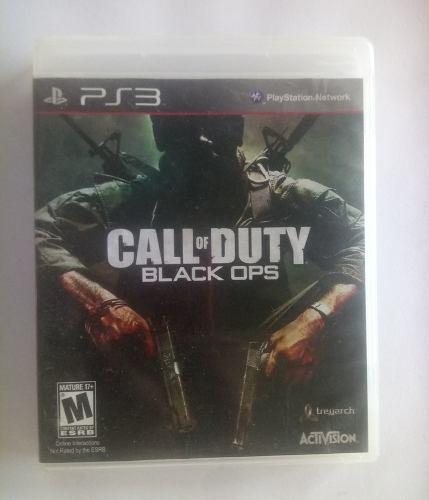 Juego Original Playstation 3 Call Of Duty Black Ops Y Mas