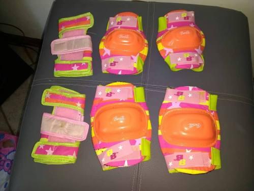 Kit De Protectores Para Patinar De Barbie
