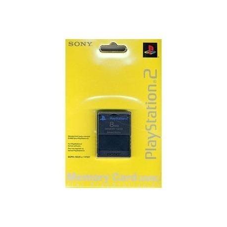 Memory Card De Playstation 2 8mb Nuevo
