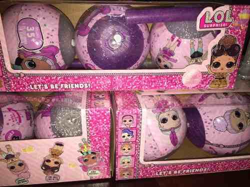 Muñecas Lol Surprise Set De 3 En Una Caja Sorpresa Oferta