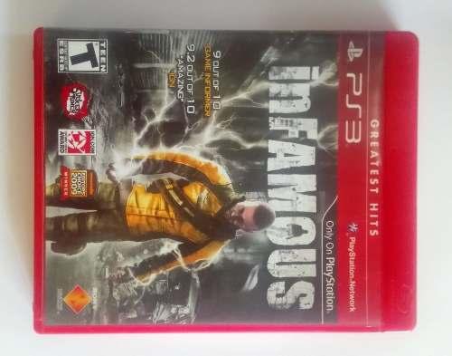 Oferta De Hoy Juego Original Playstation 3 Infamous Y Mas