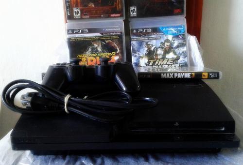 Playstation 3 1 Control 6 Juegos En Perfecto Estado Ps3