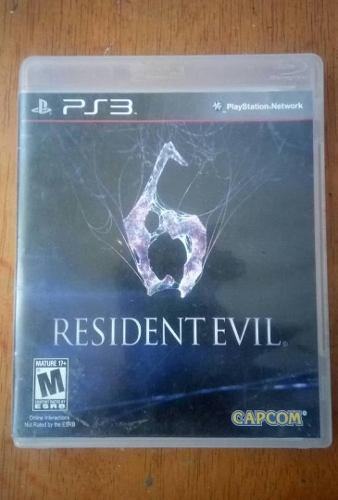 Resident Evil 6 Para Ps3