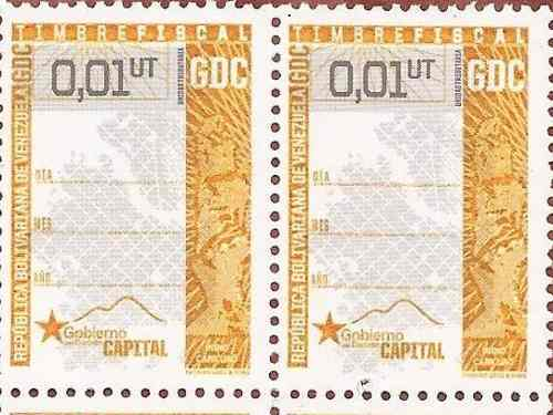 Timbres Fiscales 0.1 (anzoategui)