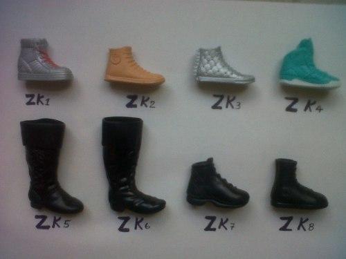 Zapatos Y Botas Para Ken Y Monster High