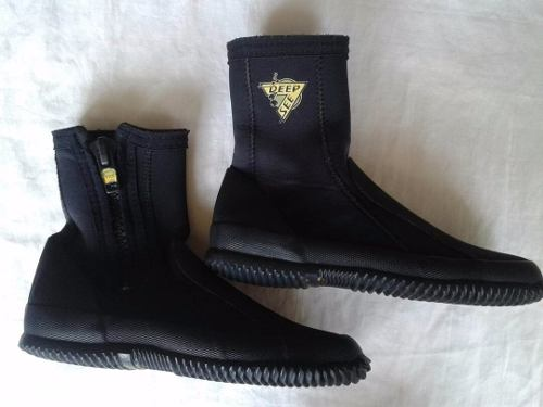 Botas De Buceo Talla 5us Deep Sea
