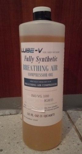 Compresor De Buceo. Aceite Full Sintetico
