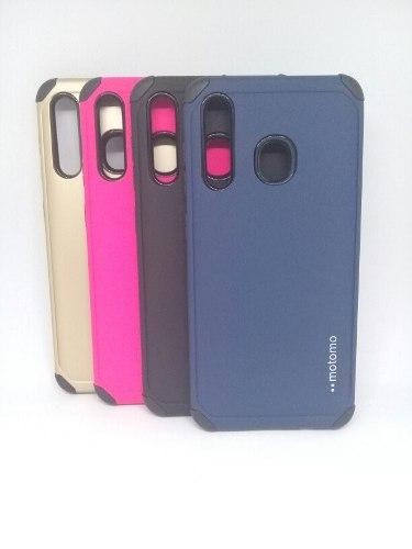Forro Motomo Antigolpe Para Samsung A20 / A30 Somos Tienda
