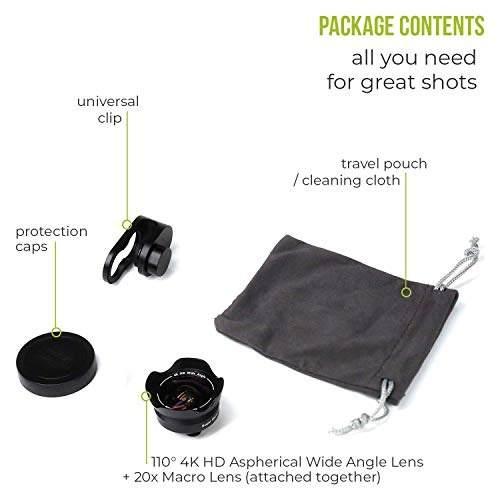 Para Celular Juego Lente Camara Telefono 5 1 iPhone Amz