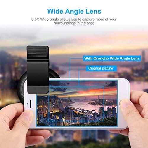Para Celular Lente Camara Telefono 4k 0.5x Gran Amz