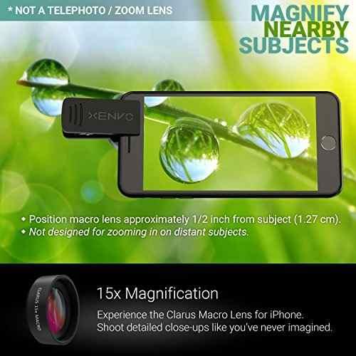 Para Celular Lente Camara Xenvo iPhone Macro Angulo Amz