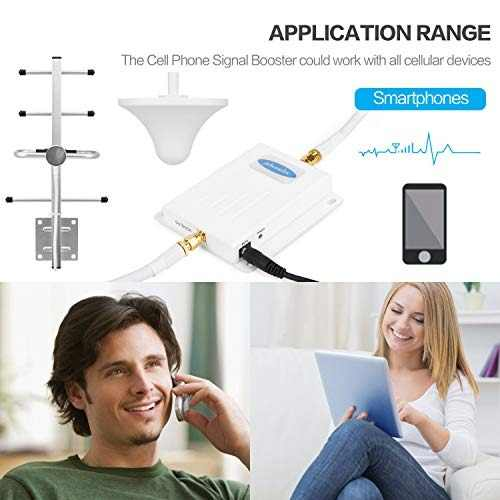 Para Celular Phonelex Amplificador 700 Mhz 4g Lte Amz