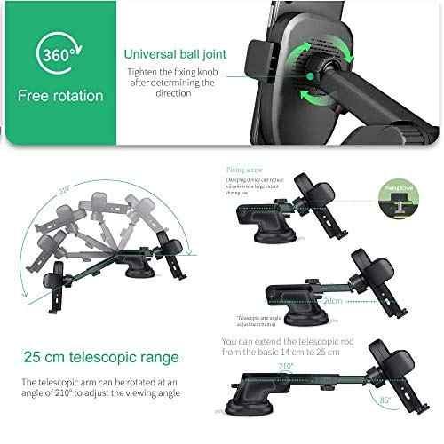 Para Celular Soluser Wireless Car Charger Automatic Amz