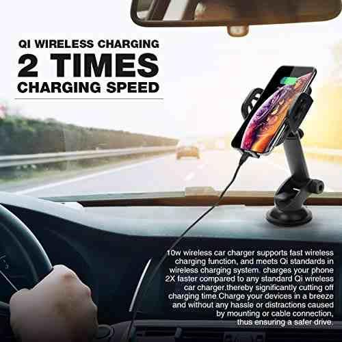 Para Celular Soporte Inalambrico Rapido Vehiculo Amz