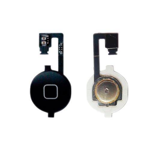 Flex iPhone 4g Boton Home Negro Nuevo Tienda Bagc