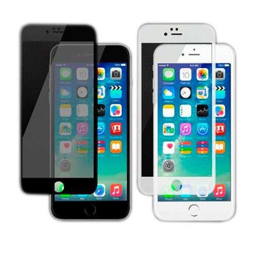 Mica iPhone 5s Blanco Negro Tienda Bagc
