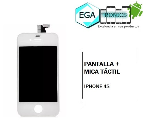 Pantalla + Mica Tactil Apple iPhone 4s Tienda Fisica Nuevas