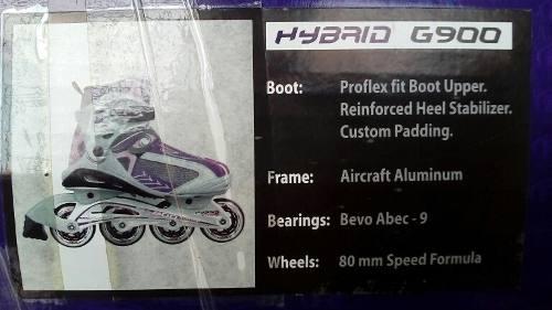 Patines Roller Derby Hybrid G900