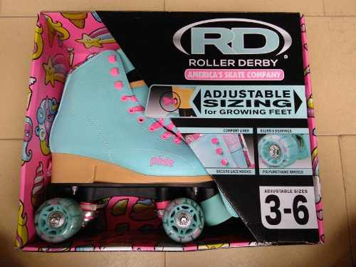 Patines (roller Derby) Para Niñas Talla (35 A La 39)