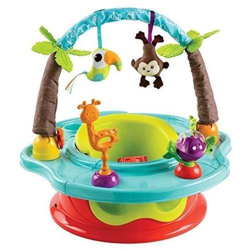 Silla De Comer Para Bebes Summer Infant Wild Safari 2 En 1