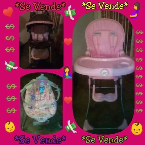 Vendo Coche, Silla De Comer Y Silla Musical