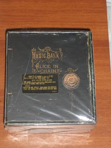 Alice In Chains Music Bank Box Set Hecho En U. S. A.