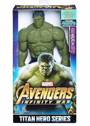 Avengers Infinity War Hulk Muñeco Grande Nuevo Somos Tienda