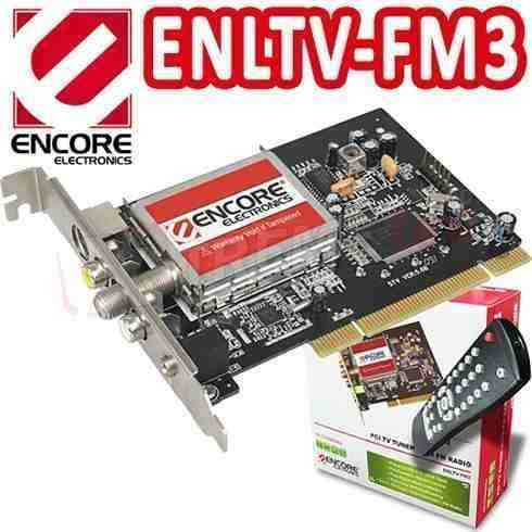 Capturadora Tv Tuner Con Radio Fm Contro Remoto Enltv-fm3