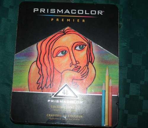 Creyones Prismacolor Caja De 48 En Oferta