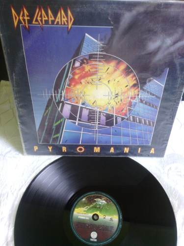 Def Leppard Pyromania Lp Disco De Vinil Acetato