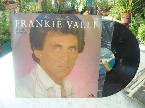 Disco De Acetato Frankie Valli El Cielo Sobre Mi