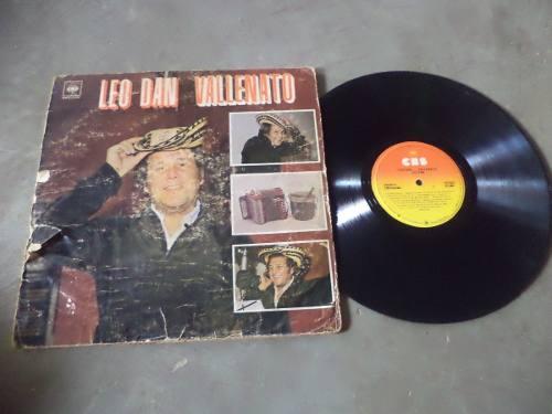 Disco Lp, Vinil, Acetato Leo Dan Vallenato