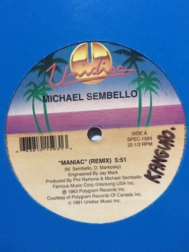 Disco Vinyl Importado: Maniac Remix