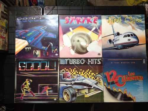 Exitos De Los 80 --discos --lp -vinil