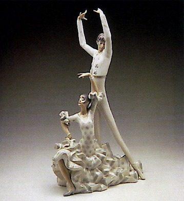 Figura Porcelana Edición Limitada Lladró Baile Español