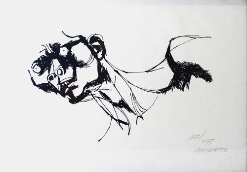 Grafica Oswaldo Guayasamin Serigrafia Con Certificado
