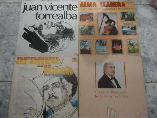 Juan Vicente Torrealba Lp Coleccion Vinil Acetato