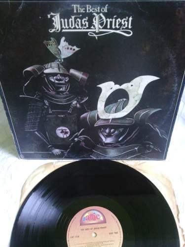 Judas Priest The Best Of Lp Disco De Vinil Acetato