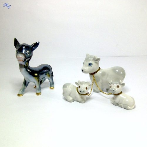 Juego De Figuras De Porcelana Española